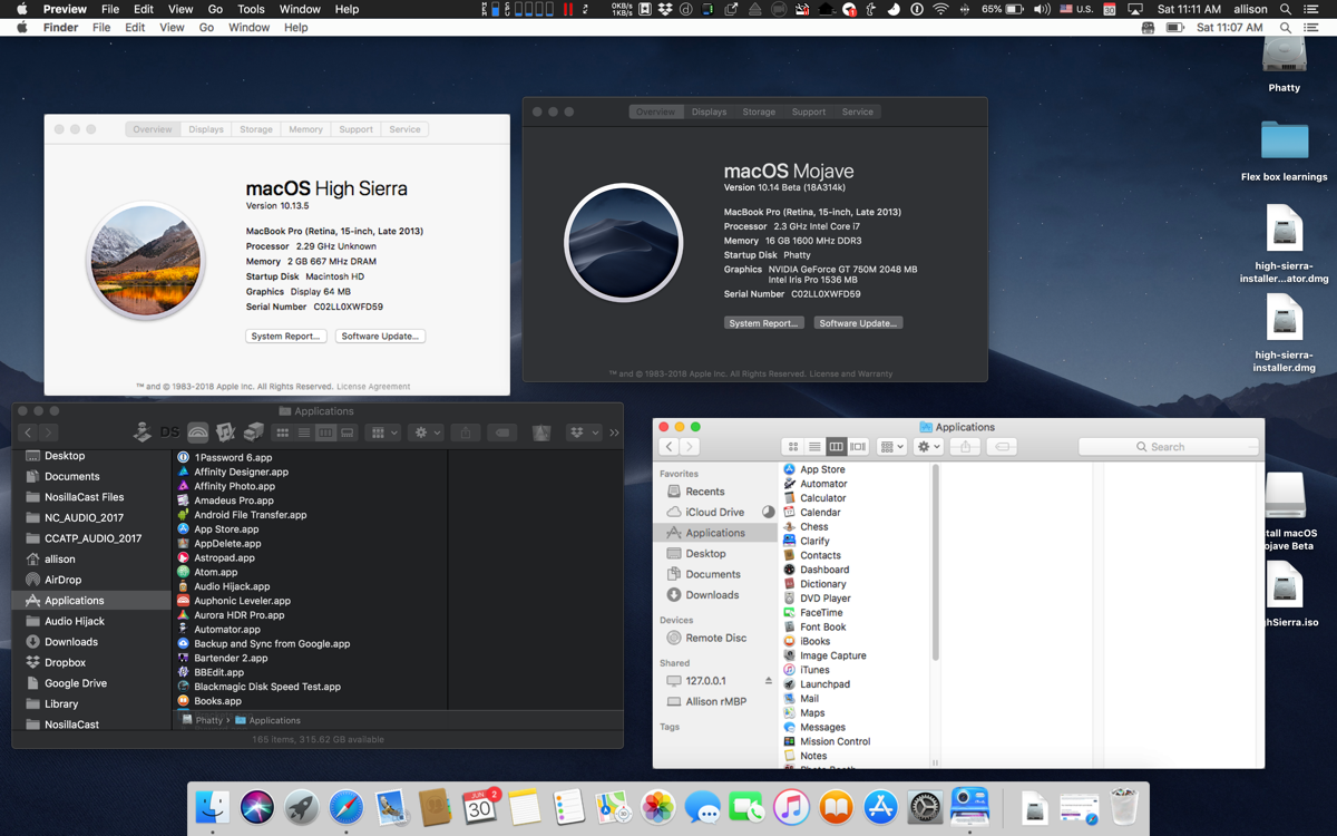Virtual Machine to Run Mojave and How I'm an Idiot - Podfeet Podcasts