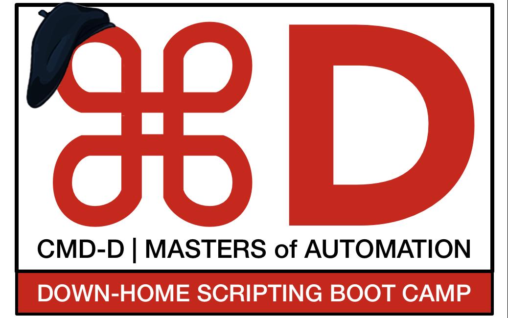 cmd-d bootcamp logo
