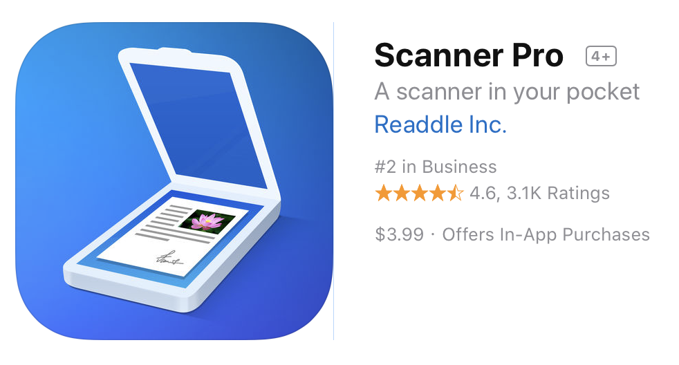 Scanner Pro on the App Store