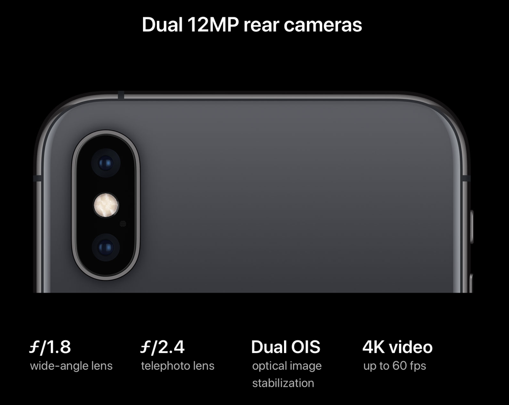 IPhone XS  Cameras  Apple