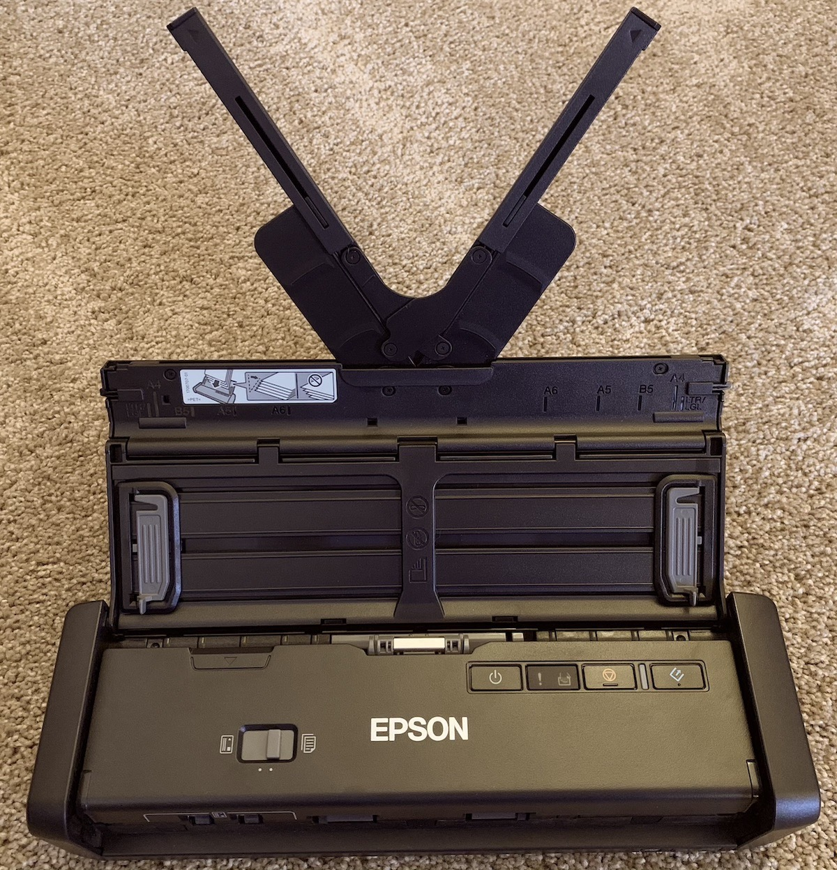 Epson ES 300W unfolded