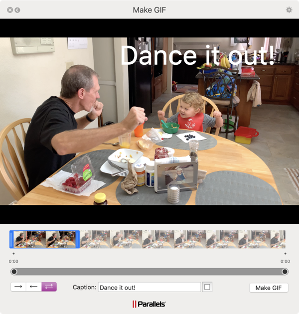 Parallels Toolbox Make GIF