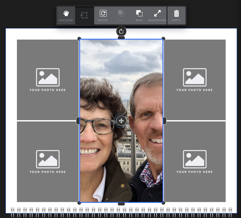 Mimeo Photos transform options