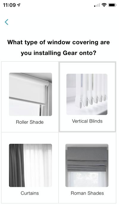 Gear screen what type of window