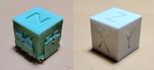 Donalds cube before after