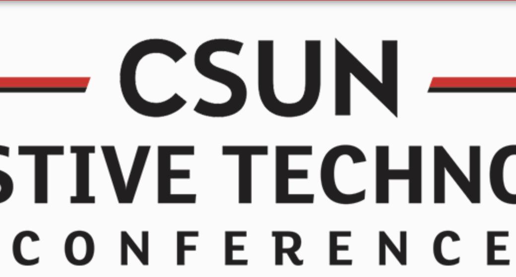 CSUN's Assistive Technology Conference logo