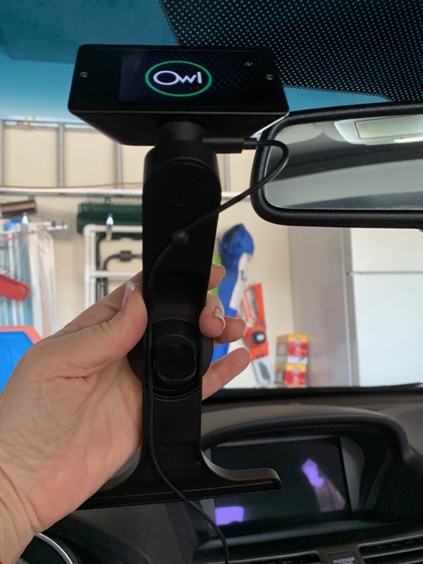 Owl Car Cam T shaped support