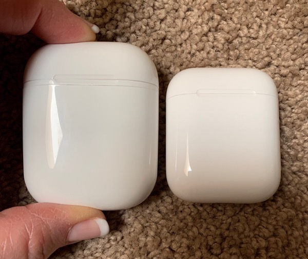 Pods 18 bigger than Airpods Case