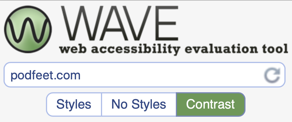 WAVE accessibility tool logo