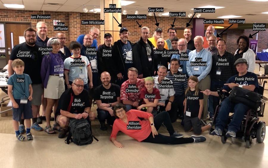 NosillaCastaways Family Portrait at Macstock Expo 2018