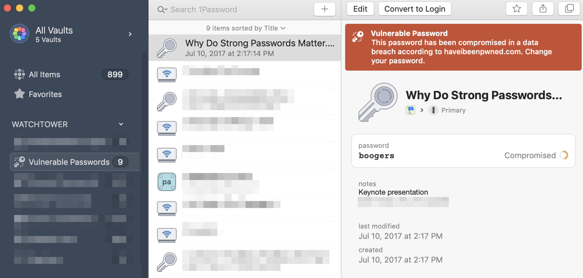 How 1Password's Family Plan Saved the Day - Podfeet Podcasts