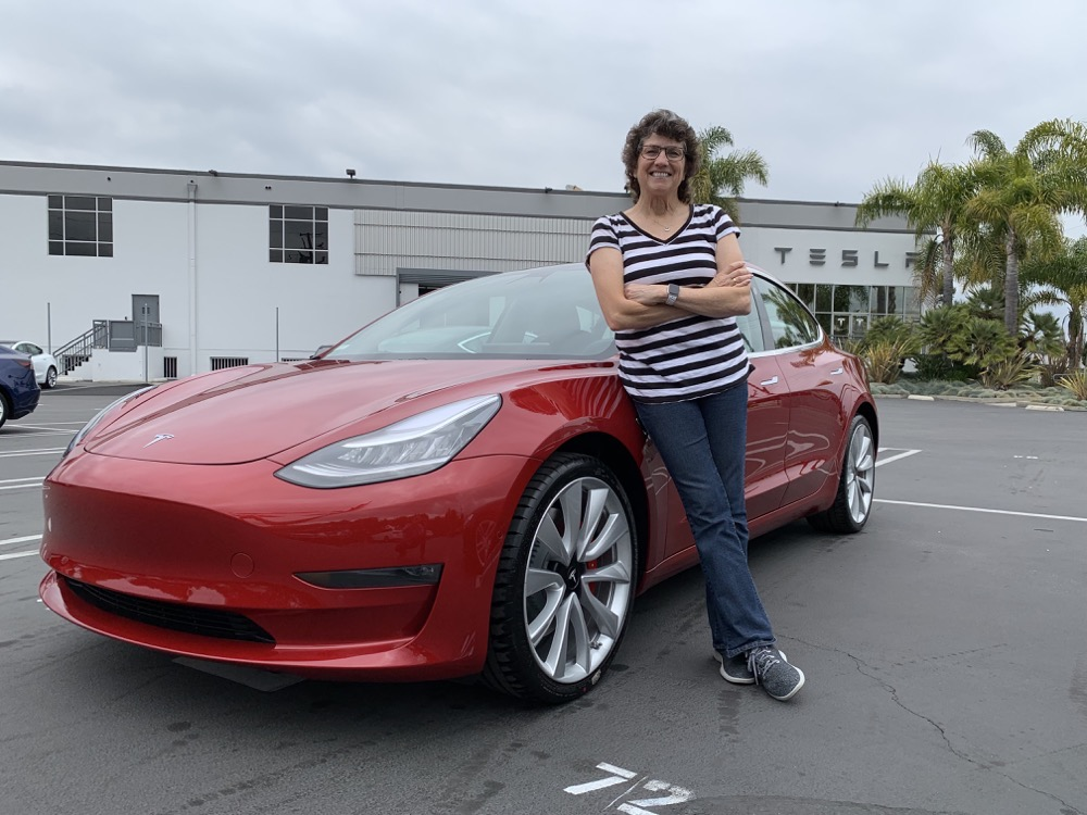 Allison new Tesla Model 3