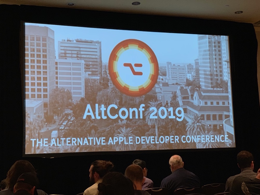 Altconf screen for wwdc keynote