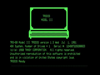 TRS-80 graphics display