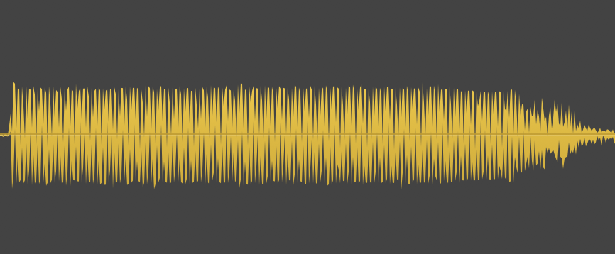 Honk long waveform