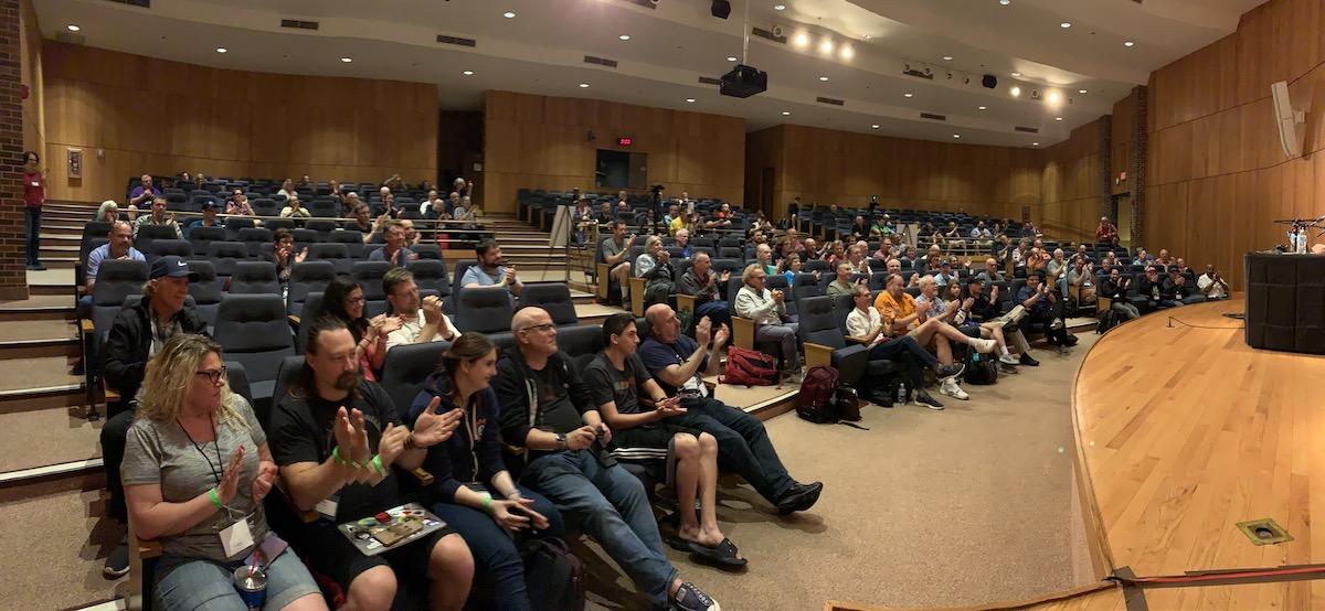 Macstock audience