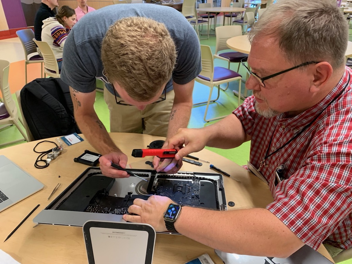 Steven Hacket John Long modifying Mac