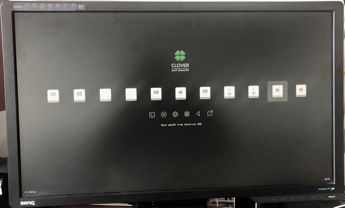 Clover Boot Screen