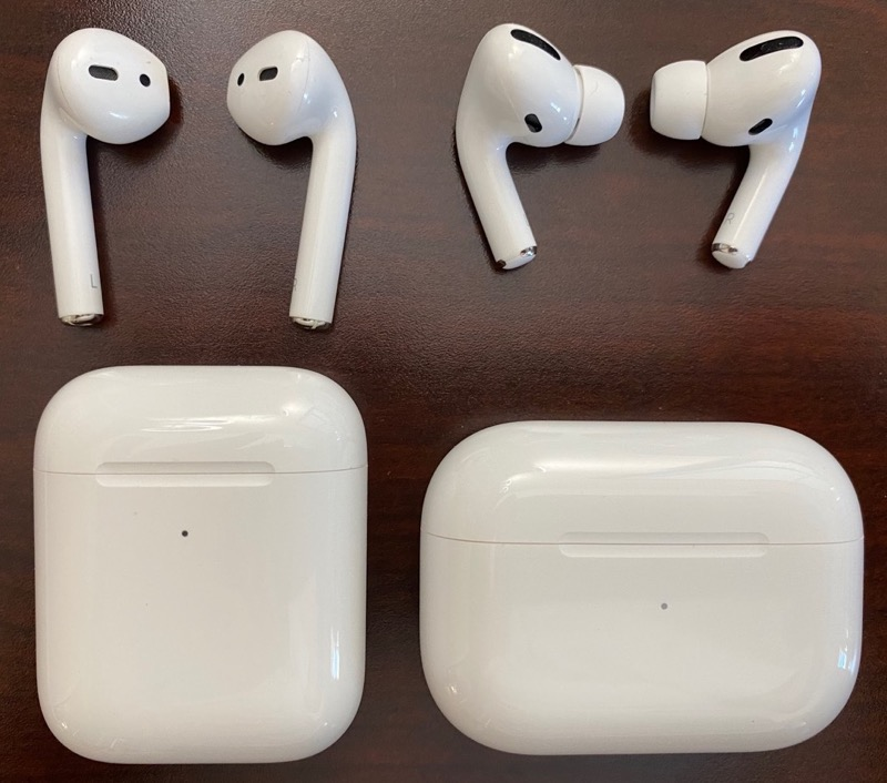 AirPods2 vs AirPodsPro