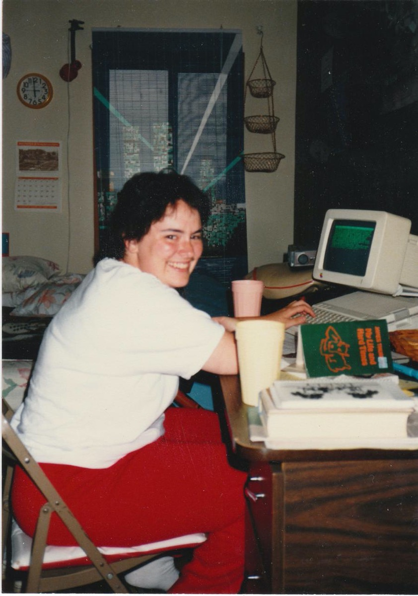 Jill with AppleIIC