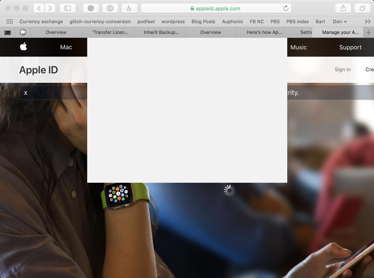 Safari can t close window on icloud
