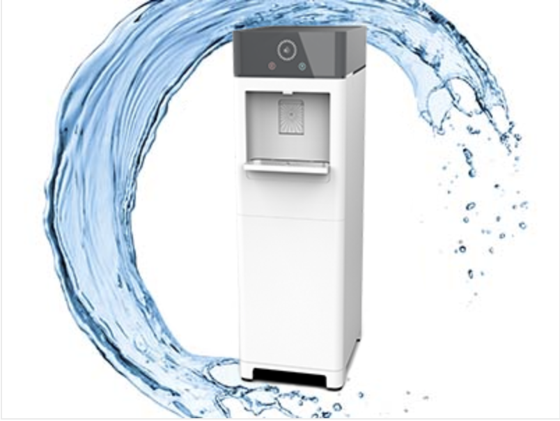 Watergen GENNY System with water splashing over it