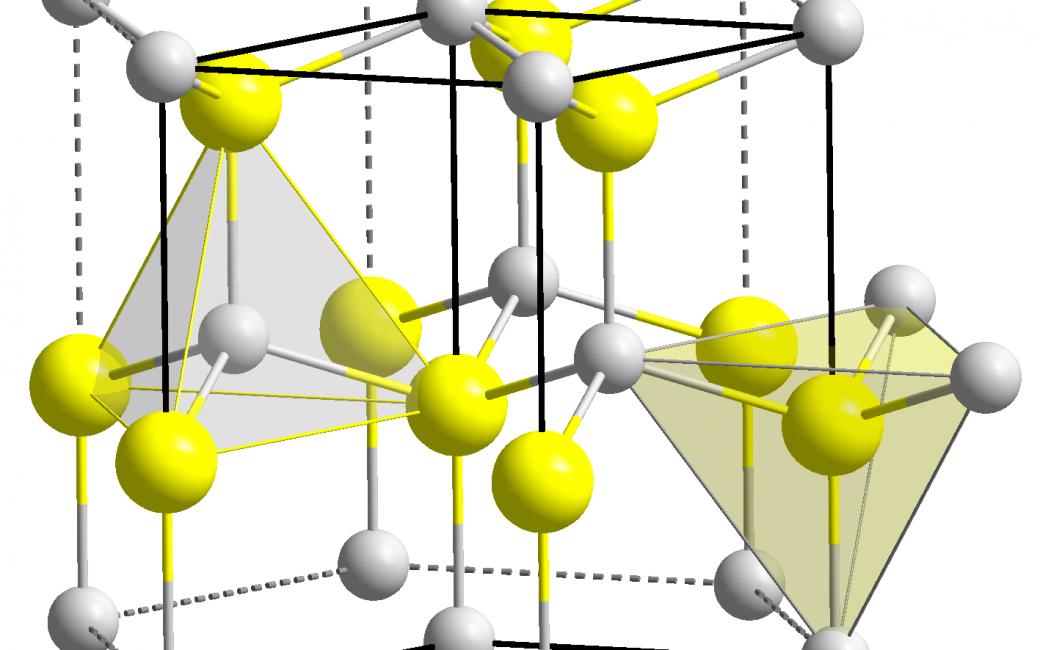 Gallium Nitride Wurtzite Polyhedra (can you picture THAT?)