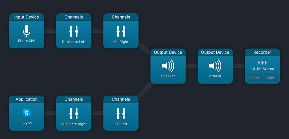 02 audio hijack session