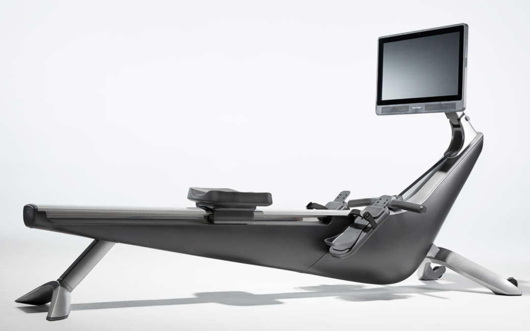 Hydrow Live Outdoor Reality Rower with Touchscreen Display