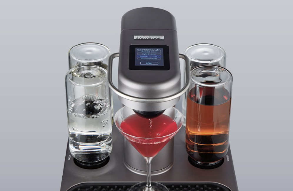 Bartesian Cocktail Maker with Four Resevoirs