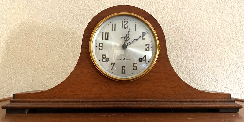 My father's mantle clock