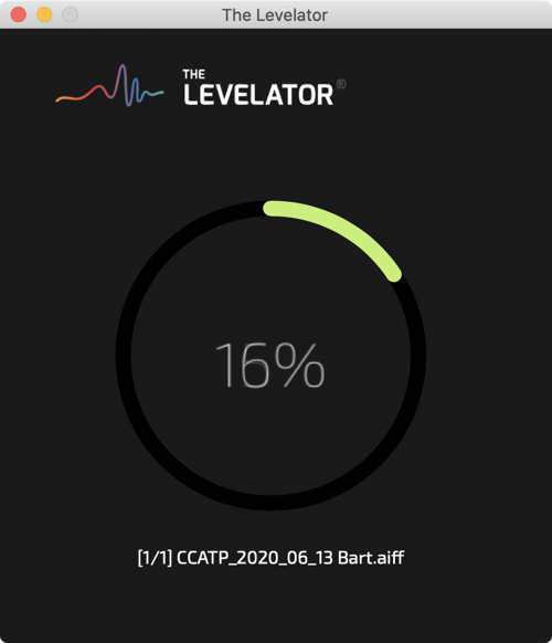The Levelator Progress