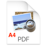 PDF A4 logo