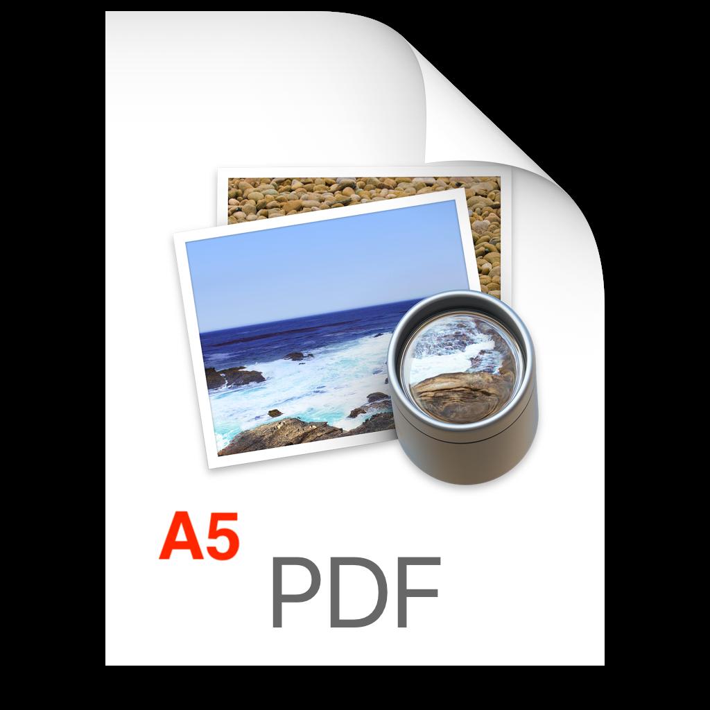 PDF A5 logo