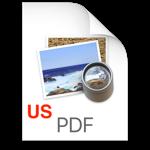 PDF US logo