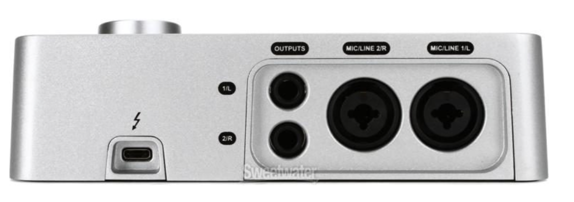 Universal Audio Apollo Solo back view