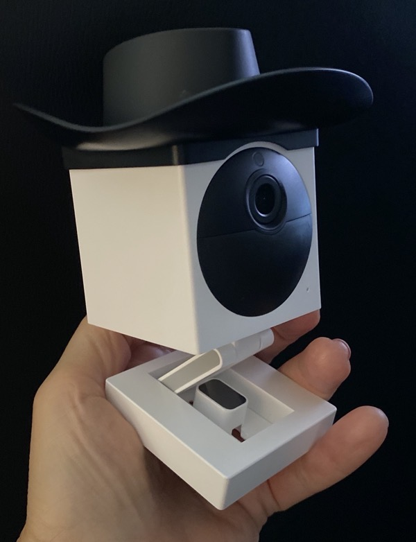 Wyze Cam Outdoor Wearing a Hat