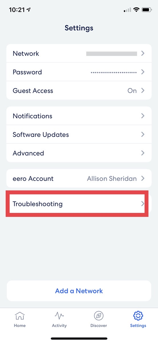 02 eero troubleshooting