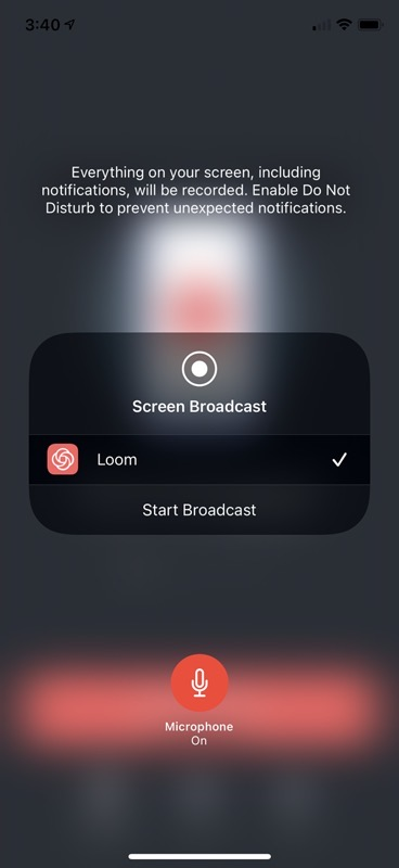 Loom on iOS