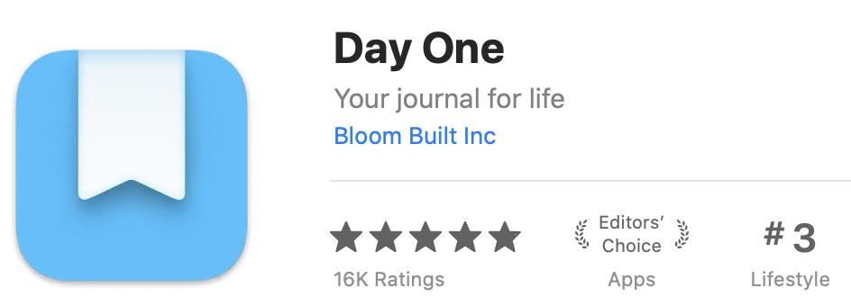 Day One Logo in Mac App Store