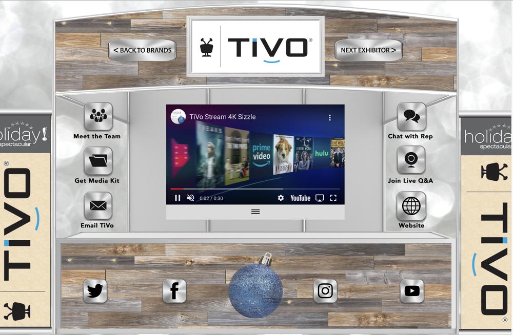 Typical Virtual Booth as described