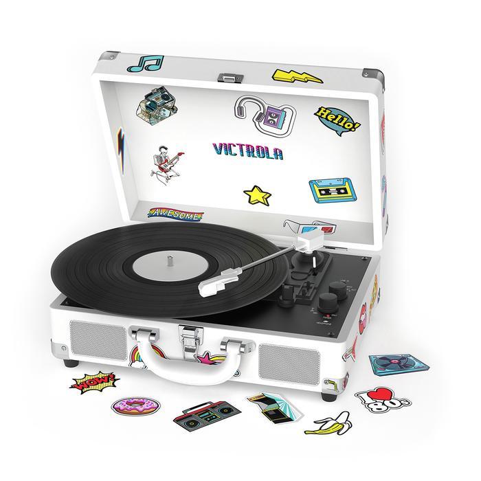 Victrola Canvas Retro Record Player
