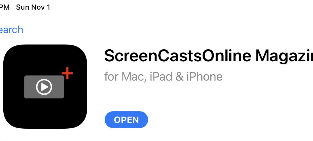 ScreenCastsOnline Magazine in App Store