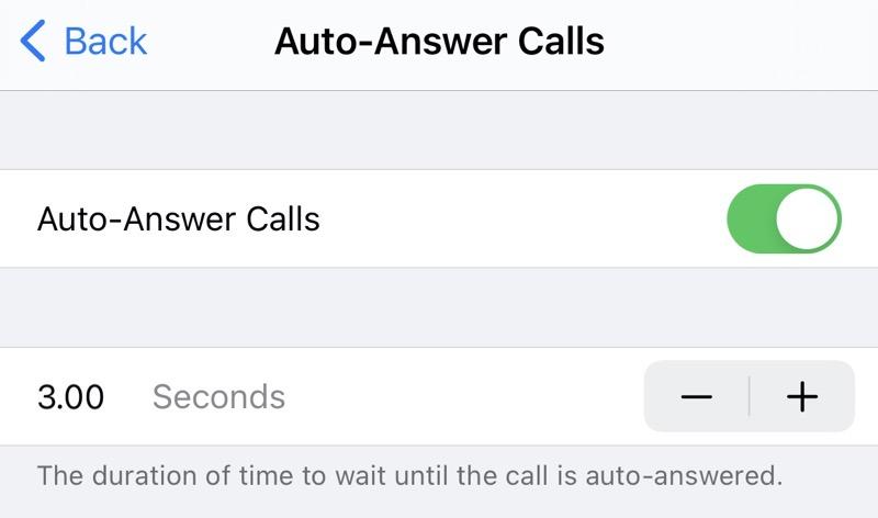 02 Auto answer Calls