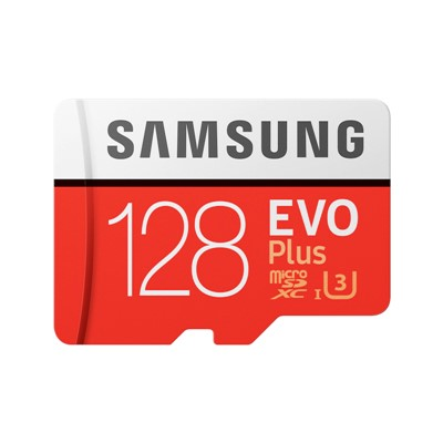 128GB Samsung EVO microSD Card