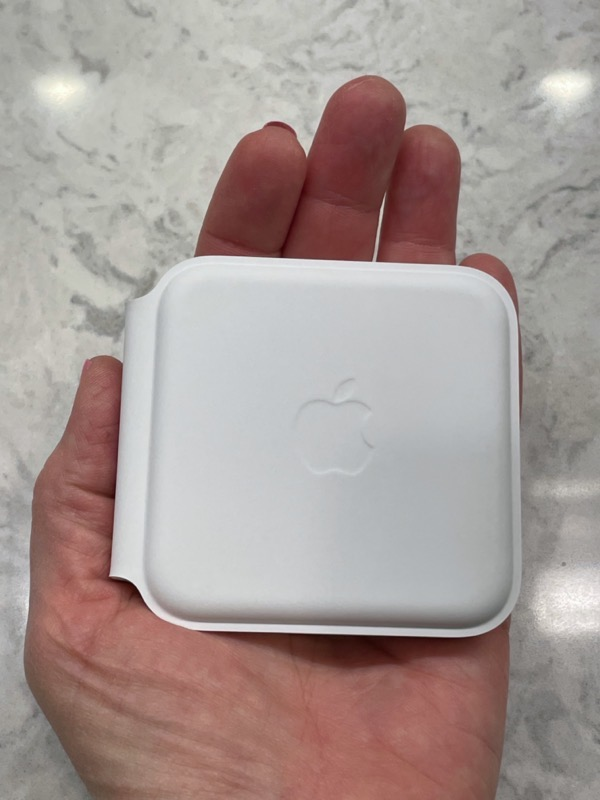 MagSafe Duo in the Palm of a Hand