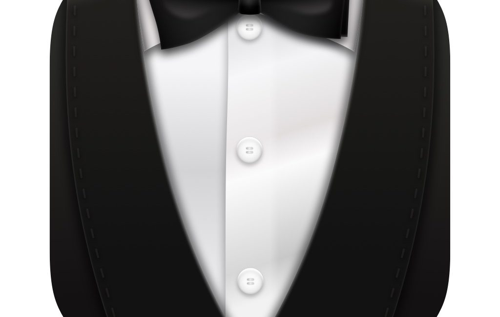 Bartender logo tuxedo body