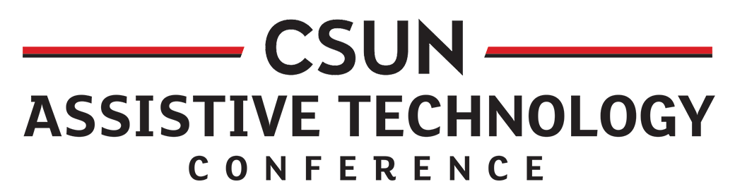 CSUN Assistive Tech conference logo