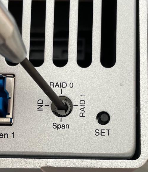 RAID dial