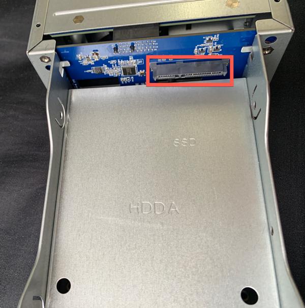 Internal SATA/ power connector